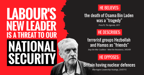 Labour's New Leader Is A Threat To Our National Security